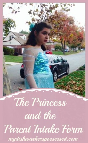 The Princess and the Parent form