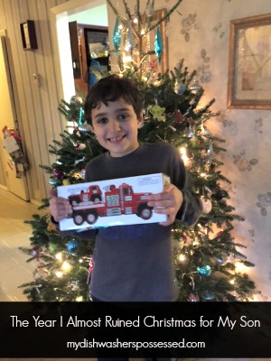 The Year I Almost Ruined Christmas for My Youngest Son